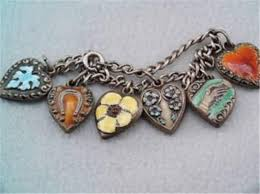 sterling bracelet with heart charm images 706 best charm bracelets old and new images jpg