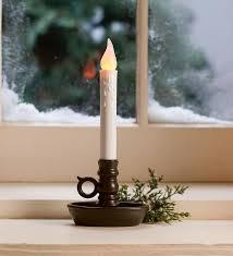 led window candles decor