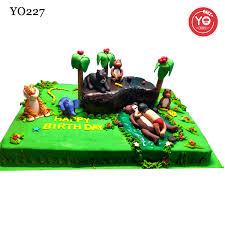 jungle theme cake jungle book theme cake hyderabad baby boy 1st birthday cake