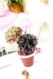 tissue paper centerpiece flower centerpiece pom pom flowers