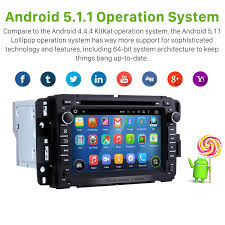 2007 2012 gmc tahoe android 5 1 1 gps navigation system dvd player