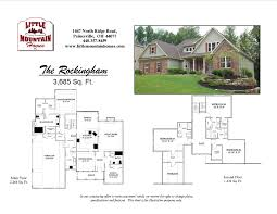 rockingham first floor master design little mountain homes