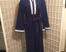 Vanity Fair Housecoat 1970s Vanity Fair Mens Velour Robe