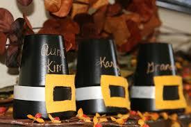 thanksgiving place cards kids dollar tree fall diy centerpieces youtube loversiq wedding theme