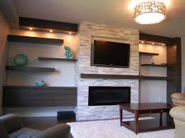 Family Room Wall Ideas by Living Room Brick Fireplace Wall Awesome Modern Living Room With