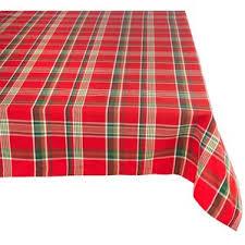 tartan plaid tablecloth wayfair