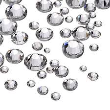 clear gemstones outus 1000 pieces clear flat back rhinestones