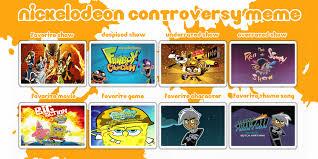 Nickelodeon Memes - my nickelodeon controversy meme by firemaster92 on deviantart