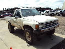 1988 toyota truck 1988 toyota truck regular cab 2 4l fuel injection mt 4x4 color