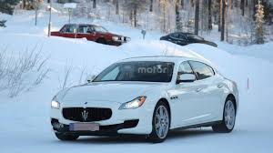 maserati blue 2017 2017 maserati quattroporte facelift spied for the first time