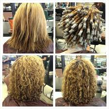 body wave perm hairstyle before and after on short hair spiral permed hair before and after pictures before and after