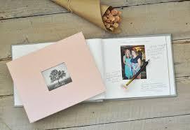 baby shower keepsakes baby shower keepsake book an archival memory book by blue sky