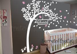 Tree Decal For Nursery Wall Wall Decal Nursery Wall Decals Tree Decal With Name Large Tree