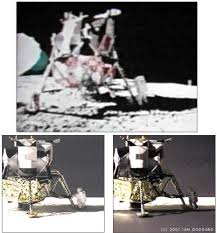 conspiracy theorists say the moon landing was faked but what does