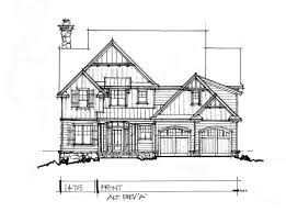 conceptual house plan 1475 narrow two story front elevation