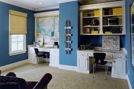 home office with two desks diy office corner desk dask hiden