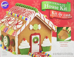 Christmas Cookie Decorating Kit Amazon Com Build It Yourself Wilton Gingerbread House Decorating