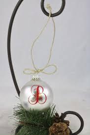 ornaments initial ornaments diy or