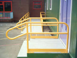 Disabled Handrails Security And Safety Fencing Durham North East City Fabrications