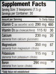 amazon com natural calm plus calcium powder natural vitality