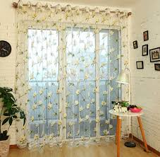 Embroidered Sheer Curtains The Most Sheer Curtain Ideas For Living Room Ultimate Home Ideas