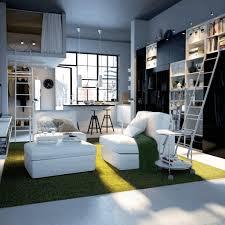 bedroom organization ideas white futuristic modern leather