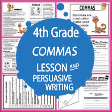 commas activities complete lesson worksheets and persuasive