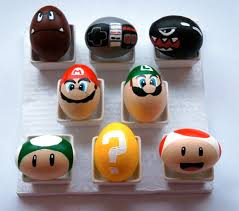 painted easter eggs mario bros painted easter eggs things