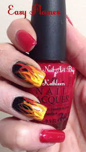 best 25 flame nail art ideas on pinterest rock nails fun nails