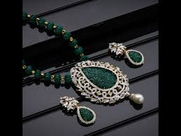 beads necklace sets images South indian ruby emerald beads necklace sets jpg