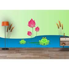Kids Room Wallpapers by Buy Funny Frog Cartoon Room Waterproof Wallpaper