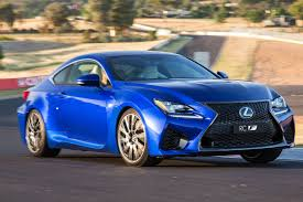 lexus sports car blue 2017 lexus rc review