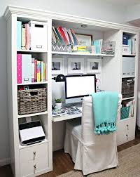 small desk with shelves a little desk refresh clever desks and storage