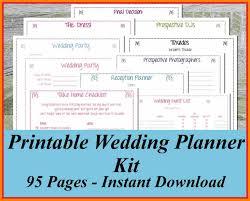online wedding planner book free printable wedding planner book world of printable and chart