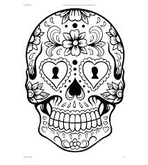 printable coloring pages sugar skulls printable sugar skull coloring pages skull printable coloring pages