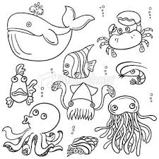 25 unique cartoon sea animals ideas on pinterest fish vector