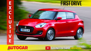 all new 2018 suzuki swift video review with interior and exterior
