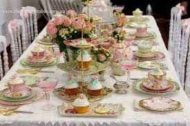 high tea kitchen tea ideas vintage high tea china crockery hire the vintage table