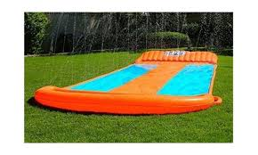 Water Slide Backyard by 2017 New Inflatable Water Slide Triple Pool Kids Park Backyard