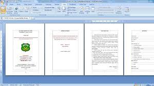 format penulisan makalah sederhana contoh cara membuat makalah yang baik dan benar youtube