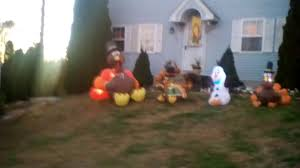 my 2016 thanksgiving inflatables display