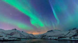 how do the northern lights happen this engagement happened under the northern lights and everyone else
