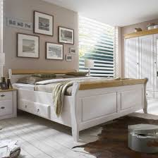 Schlafzimmerschrank Buche Massiv Massivholz Schlafzimmer Im Landhausstil Kiefer Weiß Lasiert Modell