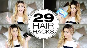 29 stupidly simple hair hacks every needs to know youtube