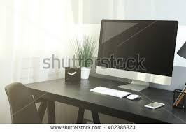 Modern Computer Desks Desktop Computer Stock Images Royalty Free Images U0026 Vectors