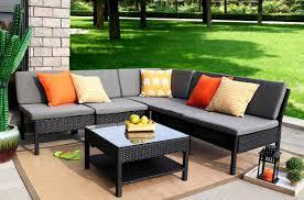 6 Piece Garden Furniture Patio Set - zipcode design maryann complete patio garden 6 piece deep seating