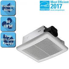 bathroom exhaust fan 50 cfm delta breez slim series 50 cfm wall or ceiling bathroom exhaust fan