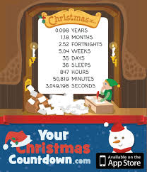 your christmas countdown counting down the days until christmas