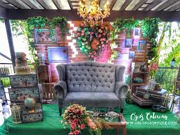 wedding backdrop manila all about rustic wedding by ovents by osio s catering wedding