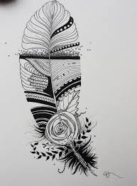 Indian Art Tattoo Designs Original India Ink Drawing Or Tattoo Design Whimsical Abstract